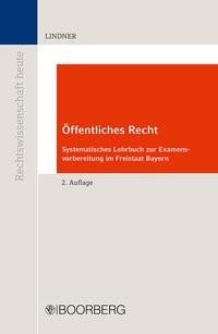 Öffentliches Recht | Lindner | 2. Auflage, 2017 | Buch (Cover)