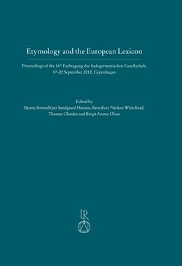 Abbildung von Simmelkjaer Sandgaard Hansen / Nielsen Whitehead   Etymology and the European Lexicon   1. Auflage   2017   beck-shop.de