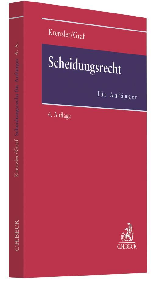 Scheidungsrecht für Anfänger | Krenzler / Graf | 4., überarbeitete Auflage, 2018 | Buch (Cover)