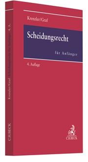 Scheidungsrecht für Anfänger   Krenzler / Graf   4., überarbeitete Auflage, 2018   Buch (Cover)