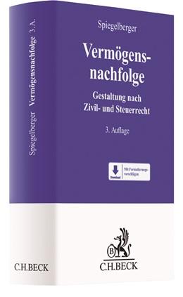 Abbildung von Spiegelberger | Vermögensnachfolge | 3. Auflage | 2020 | beck-shop.de