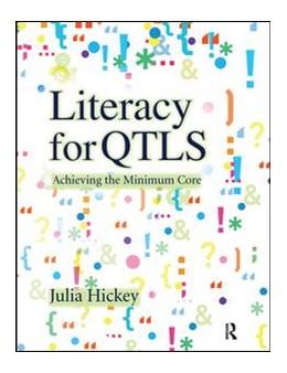 Abbildung von Hickey   Literacy for QTLS   1. Auflage   2017   beck-shop.de