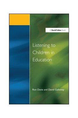 Abbildung von Davie / Galloway | Listening to Children in Educ | 1. Auflage | 2017 | beck-shop.de