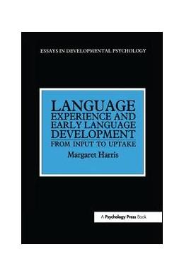 Abbildung von Harris | Language Experience and Early Language Development | 1. Auflage | 2017 | beck-shop.de