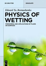 Physics of Wetting | Bormashenko, 2017 | Buch (Cover)