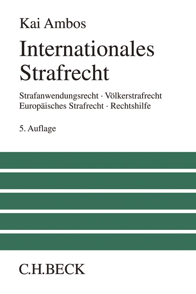 Internationales Strafrecht | Ambos | Buch (Cover)