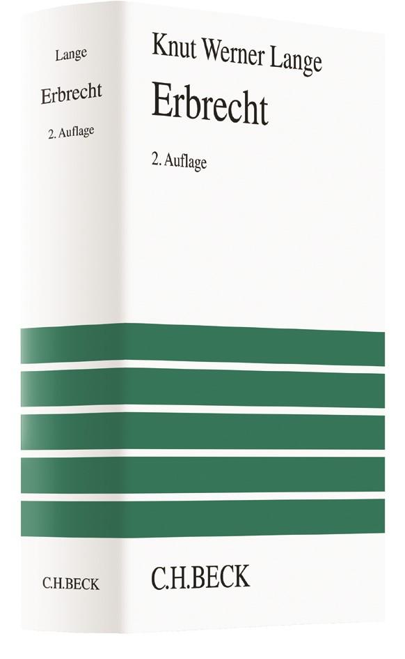 Erbrecht | Lange | 2. Auflage, 2017 | Buch (Cover)