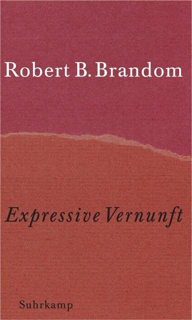 Expressive Vernunft | Brandom | 2. Auflage, 2000 | Buch (Cover)