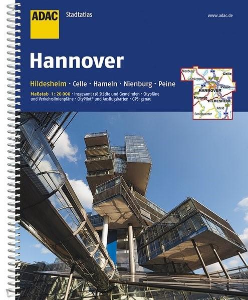 ADAC StadtAtlas Hannover / Hildesheim 1 : 20 000 | 9. Auflage, 2017 | Buch (Cover)