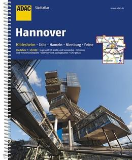 Abbildung von ADAC StadtAtlas Hannover / Hildesheim 1 : 20 000 | 9. Auflage | 2017 | mit Celle, Hameln, Nienburg, P...