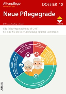 Abbildung von Zeitschrift Altenpflege   Altenpflege Dossier 10 - Neue Pflegegrade   2017   Die Pflegebegutachtung ab 2017...