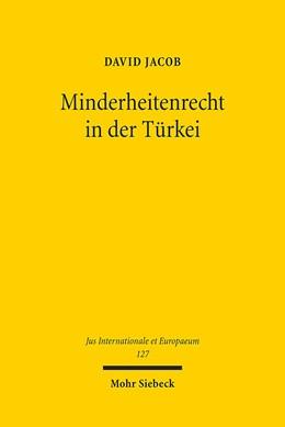 Abbildung von Jacob | Minderheitenrecht in der Türkei | 1. Auflage | 2017 | 127 | beck-shop.de