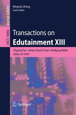 Abbildung von Pan / Cheok | Transactions on Edutainment XIII | 1. Auflage | 2017 | beck-shop.de