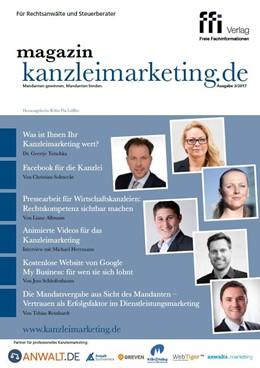Abbildung von magazin kanzleimarketing.de | 1. Auflage | 2017 | beck-shop.de