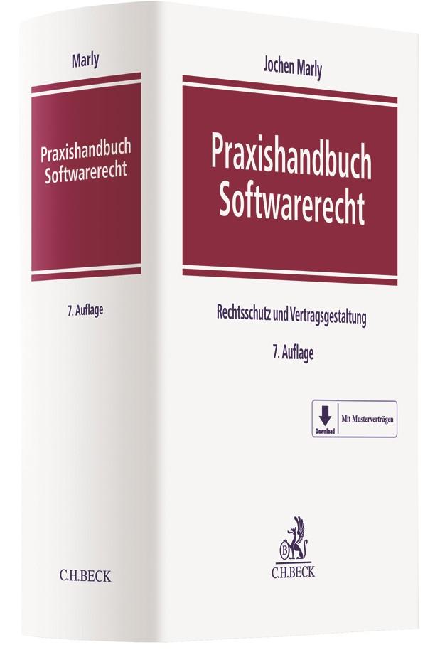 Praxishandbuch Softwarerecht | Marly | 7., vollständig überarbeitete Auflage, 2018 | Buch (Cover)