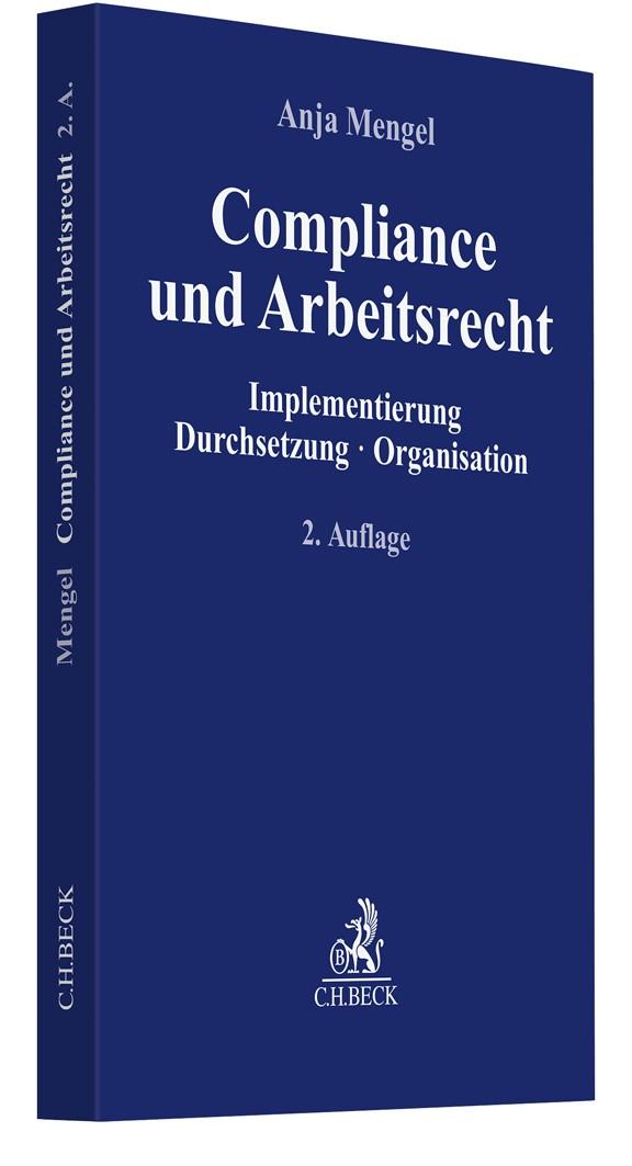 Compliance und Arbeitsrecht | Mengel | 2. Auflage, 2019 | Buch (Cover)