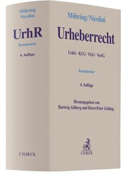Abbildung von Möhring / Nicolini | Urheberrecht | 4. Auflage | 2018 | beck-shop.de