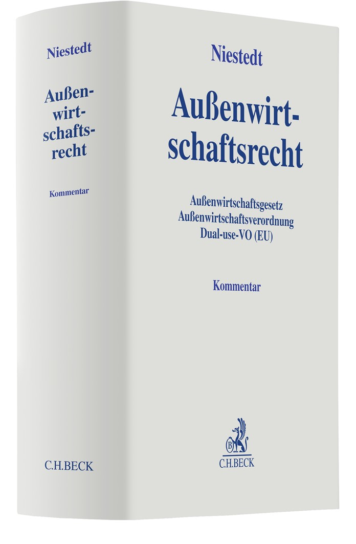 Außenwirtschaftsrecht | Niestedt, 2019 | Buch (Cover)