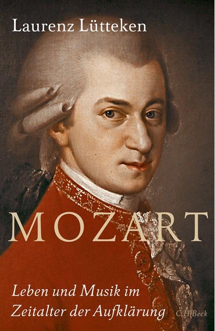 Cover: Laurenz Lütteken, Mozart