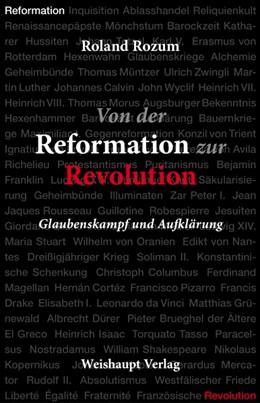 Abbildung von Rozum | Von der Reformation zur Revolution | 1. Auflage | 2016 | beck-shop.de