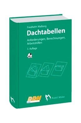 Abbildung von Maßong | Dachtabellen | 4. Auflage | 2018 | beck-shop.de