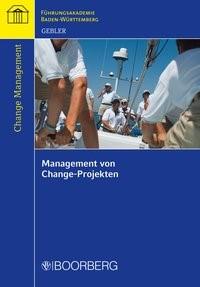 Management von Change-Projekten | Gebler, 2018 | Buch (Cover)