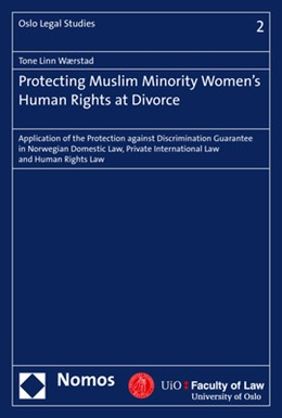 Abbildung von Wærstad | Protecting Muslim Minority Women's Human Rights at Divorce | 2017 | Application of the Protection ... | 2