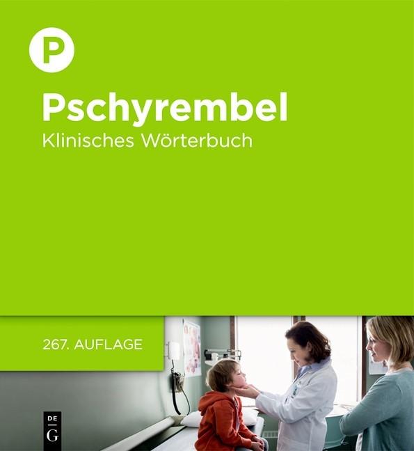 Pschyrembel • Klinisches Wörterbuch | 267., aktualisierte Auflage, 2017 | Buch (Cover)