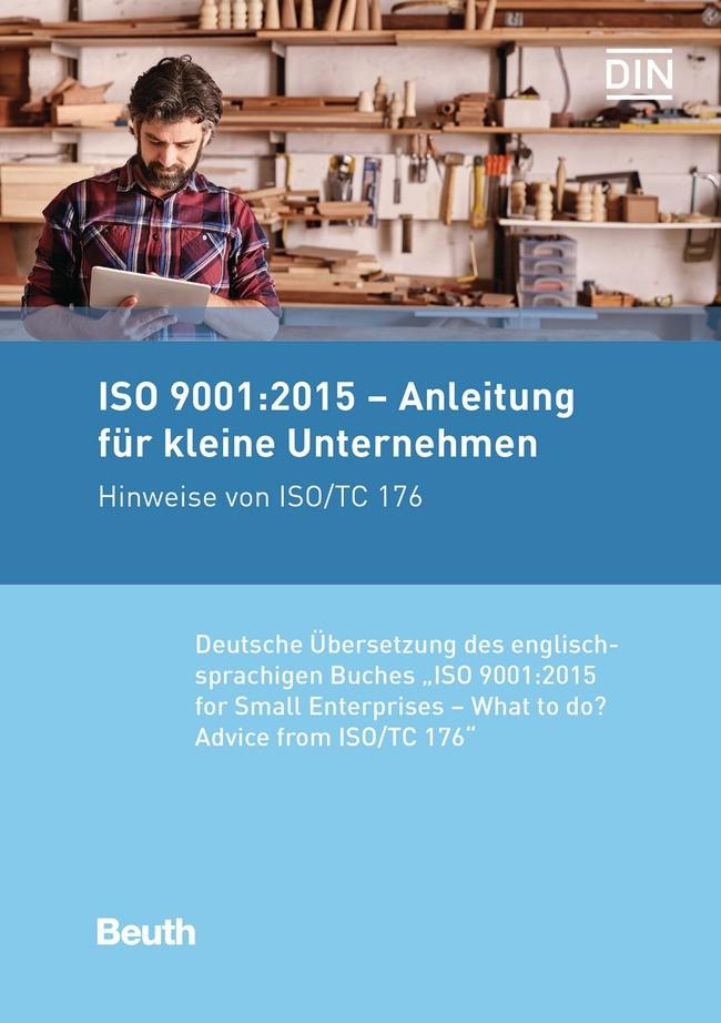 ISO 9001:2015 - Anleitung für kleine Unternehmen, 2017 | Buch (Cover)