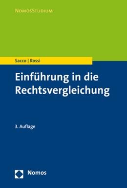 Abbildung von Sacco / Rossi   Einführung in die Rechtsvergleichung   3. Auflage   2017   beck-shop.de
