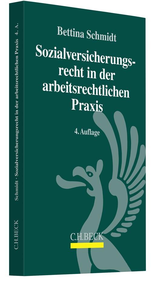 Sozialversicherungsrecht in der arbeitsrechtlichen Praxis | Schmidt | 4. Auflage, 2018 | Buch (Cover)