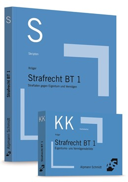 Abbildung von Krüger | Skript Strafrecht BT 1 + Karteikarten Strafrecht BT 1 - Set | 1. Auflage | | beck-shop.de