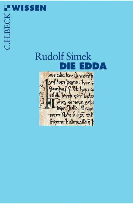 Cover: Rudolf Simek, Die Edda