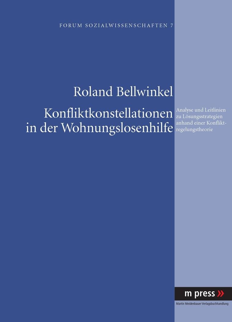 Abbildung von Bellwinkel | Konfliktkonstellationen in der Wohnungslosenhilfe | 2008