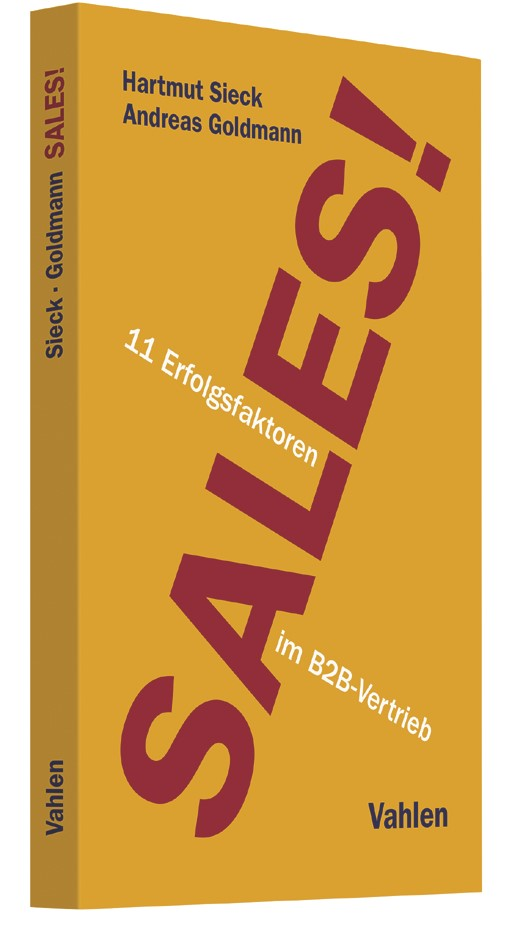 Sales! | Sieck / Goldmann, 2017 | Buch (Cover)