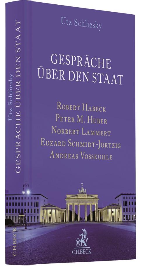 Gespräche über den Staat | Schliesky, 2017 | Buch (Cover)