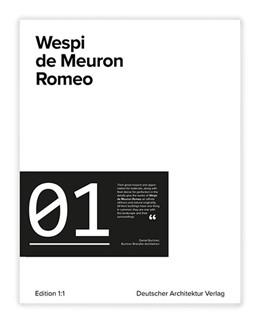 Abbildung von Wespi de Meuron Romeo   1. Auflage   2017   beck-shop.de