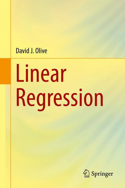 Linear Regression | Olive, 2017 | Buch (Cover)