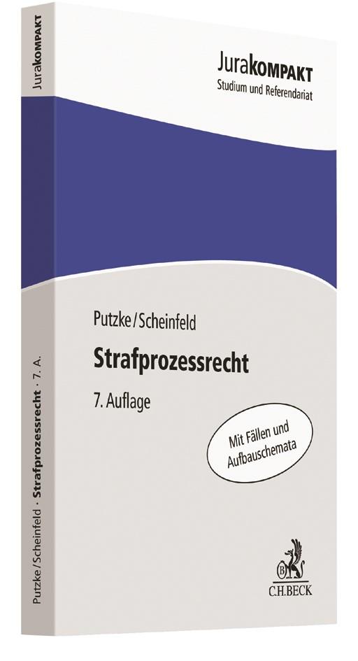 Strafprozessrecht | Putzke / Scheinfeld | 7. Auflage, 2017 | Buch (Cover)