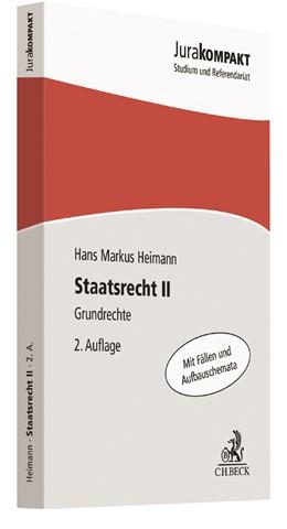 Abbildung von Heimann | Staatsrecht II | 2. Auflage | 2019 | beck-shop.de