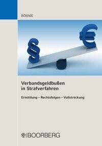 Verbandsgeldbußen in Strafverfahren | Böhme, 2017 | Buch (Cover)
