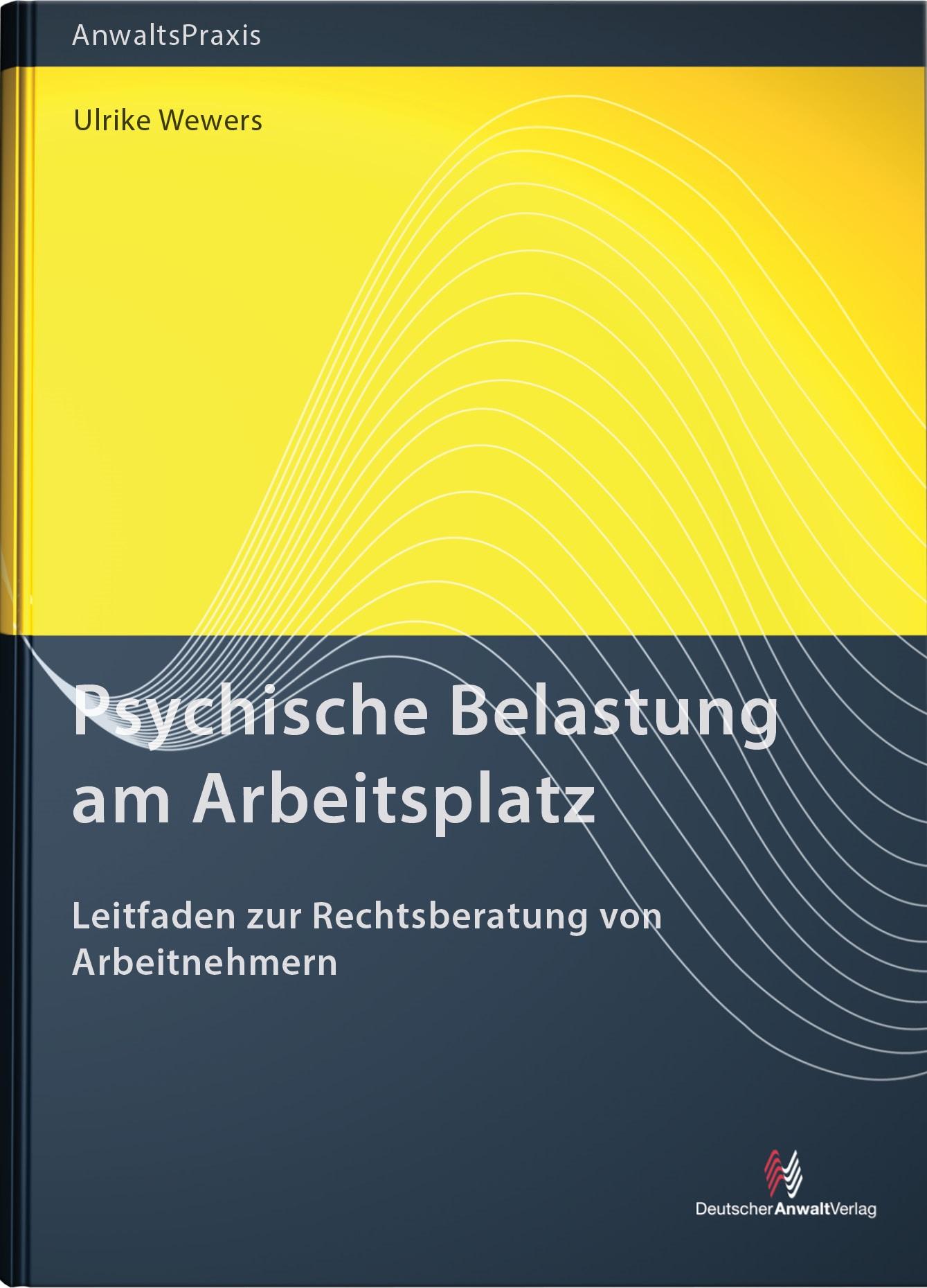 Psychische Belastung am Arbeitsplatz | Wewers, 2017 | Buch (Cover)