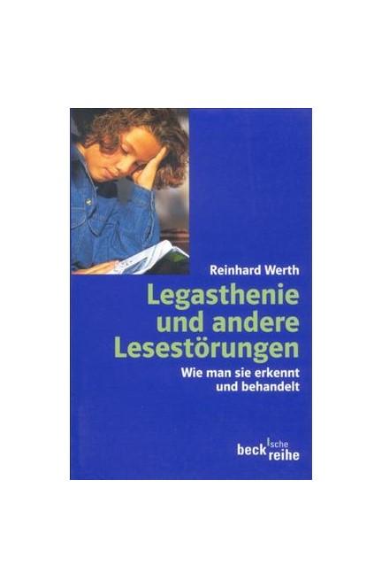 Cover: Reinhard Werth, Legasthenie und andere Lesestörungen