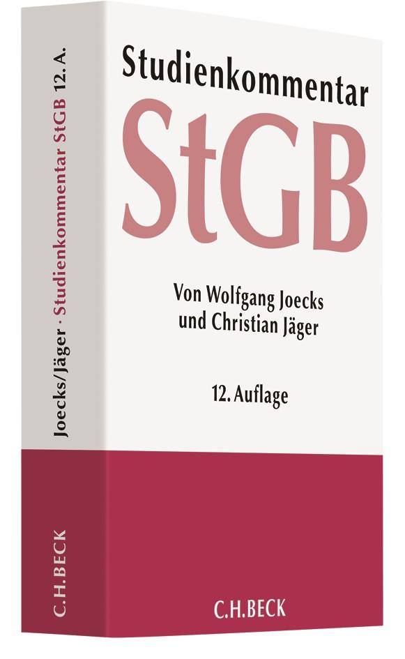 Strafgesetzbuch: StGB | Joecks / Jäger | 12. Auflage, 2017 | Buch (Cover)
