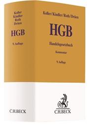 Handelsgesetzbuch: HGB | Koller / Kindler / Roth / Drüen | 9. Auflage, 2019 | Buch (Cover)