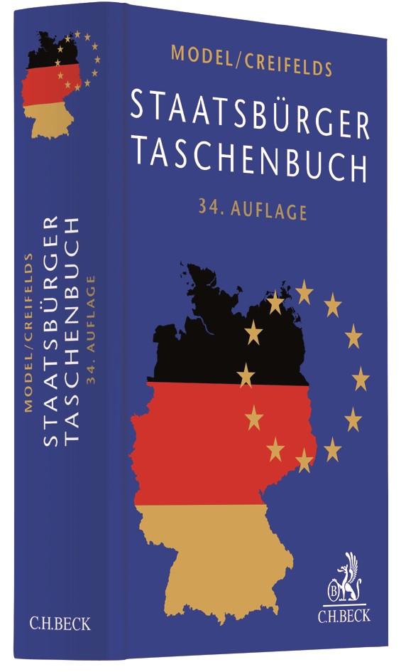 Staatsbürger-Taschenbuch | Model / Creifelds | 34., neubearbeitete Auflage, 2017 | Buch (Cover)