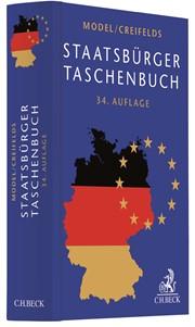 Staatsbürger-Taschenbuch   Model / Creifelds   34., neubearbeitete Auflage, 2017   Buch (Cover)
