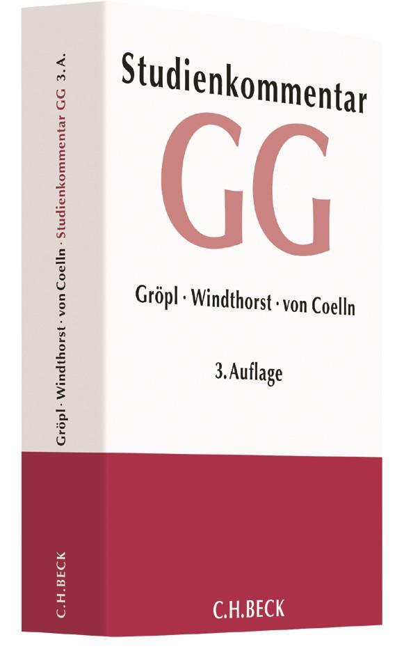 Grundgesetz: GG | Gröpl / Windthorst / von Coelln | Buch (Cover)
