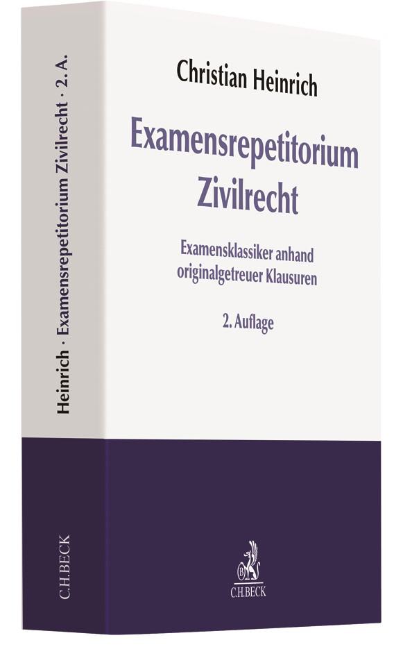 Abbildung von Heinrich | Examensrepetitorium Zivilrecht | 2. Auflage | 2018