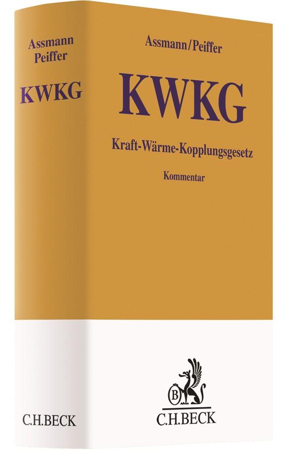 Kraft-Wärme-Kopplungsgesetz: KWKG   Assmann / Peiffer, 2017   Buch (Cover)